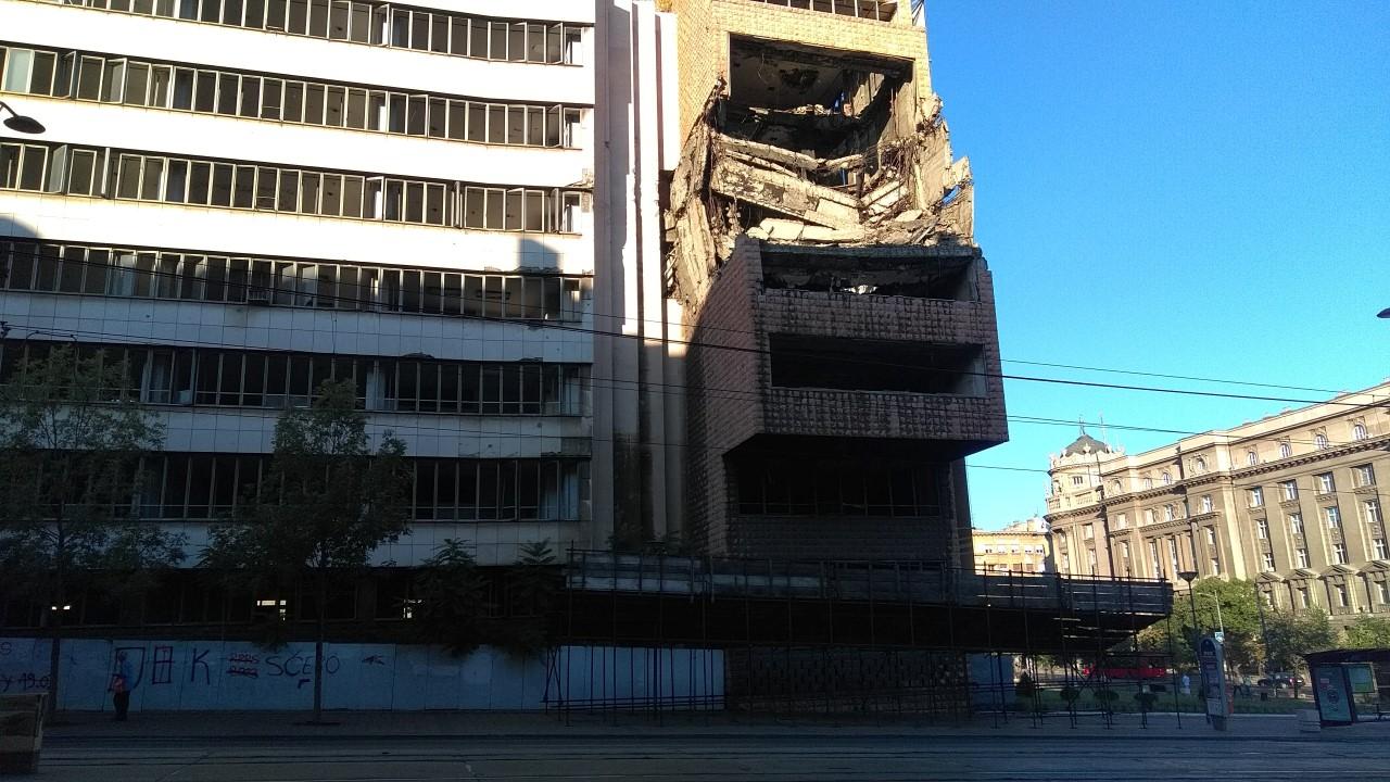 Serbian buildings